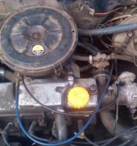 Двигатель ваз 21083 с кпп.