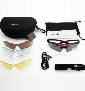 💥 Поляризованные очки с сменными линзами RockBros