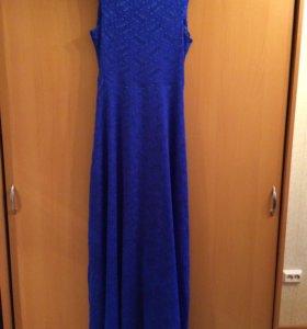 Платье длинное😊