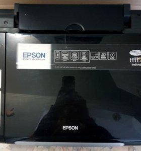 Принтер струйный со сканером EPSON tx 200,
