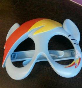 Детская маска литл пони