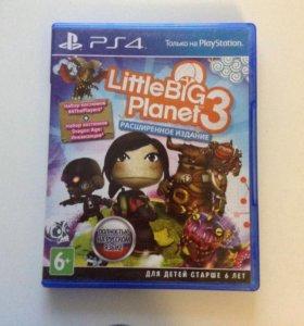 Игра Little Big Planet 3 для PS4 little big planet