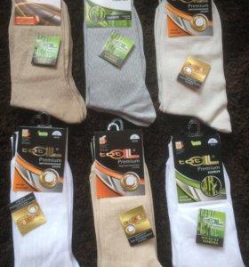 Мужские носки новые!!! В упаковках