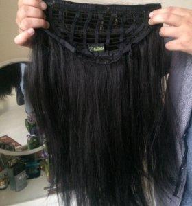 Шиньон /волосы