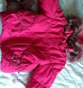 Куртка весна-осень на девочку
