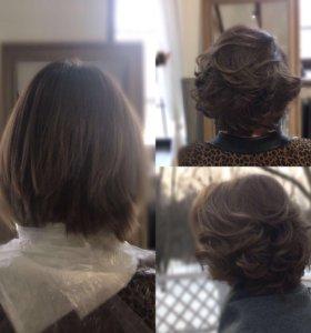 Окрашивание волос Keune