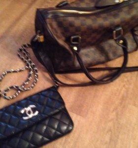 Сумки Chanel, Louis Vuitton