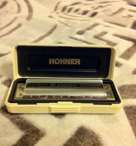 Губная гармошка Hohner, made in Germany, классика