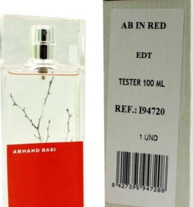 In Red Armand Basi tester 100ml