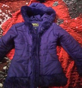 Куртка зимняя 125 -140