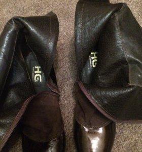 Сапоги новые Италия , демисезонные HG shoes.