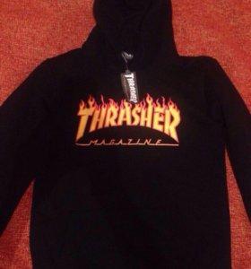 Thrasher кофта с капюшоном