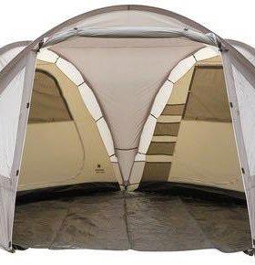 Палатка двухкомнатная с тамбуром