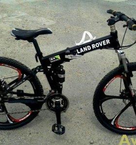 Велосипеды Land Rover со складной рамой
