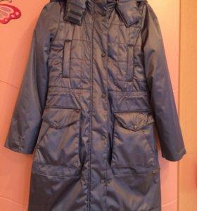Пальто зимнее на девочку Eighty twenty 80:20