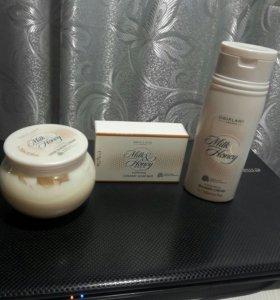 Набор ( молоко и мёд)