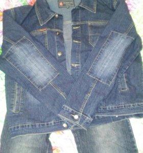 Куртка джинсовка и джинсы