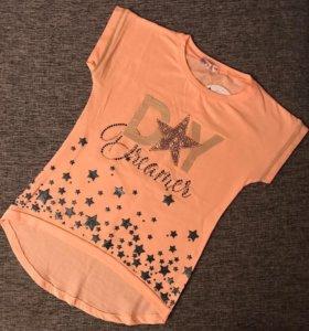 Новые футболки для девочек 🎊