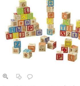 Кубики деревянные imaginarium