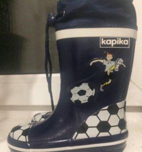 Резиновые сапожки kapika
