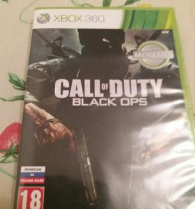 CALL of DYTY BLACK OPS XBOX360