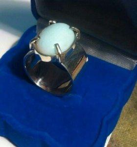 Кольцо перстень серебро