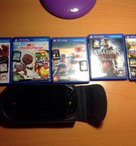 PlayStation vita и 6 игр