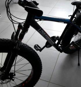 Велосипед Fat Baik УВЕЛИЧЕННЫЕ ПОКРЫШКИ