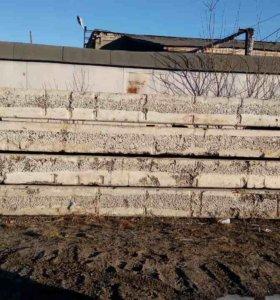 Продам плиты керамзито-бетонные