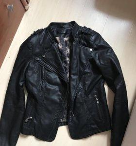 Куртка-косуха с меховым воротником