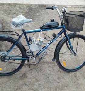 Велосипед с мотором Д80