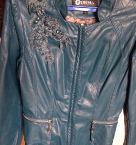 Куртку из кожзама