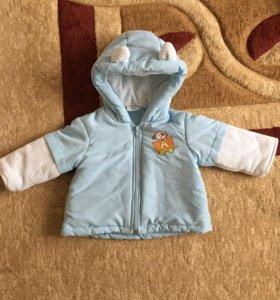 Курточка детская на мальчика