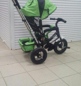 Веллсипед надувные колеса комфорт зеленые
