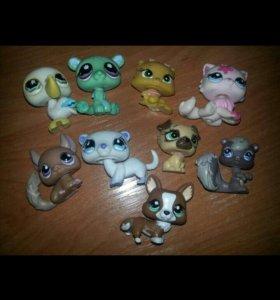 Littlest pet shops lps петшопы