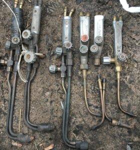 газовые резаки,горелки в ассортименте