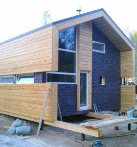 Строительство домиков отдыха