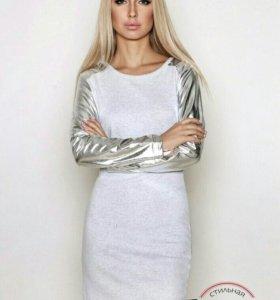 Платье туника 42 новое