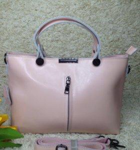 Кожаная женская сумка Victoria Beckham