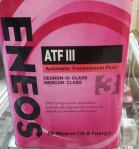 Масло трансмиссионное ENEOS ATF 3, за 1л