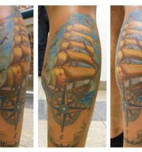 Обучение татуировки