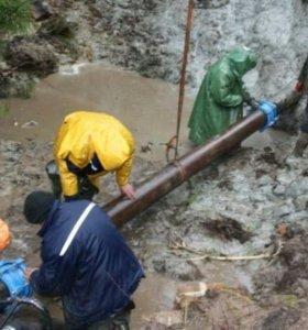 Замена, ремонт водопровода и канализации