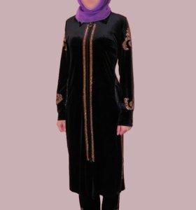 Платье на никах, национальный костюм