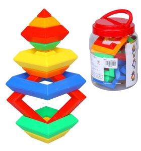Конструктор пирамидка