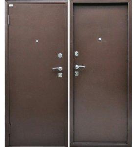 Дверь входная металлическая металл/металл