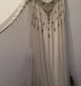 Платье, белая Абая