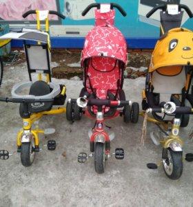 Велосипеды коляски 3-х колесные
