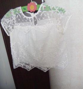 Блузка на девочку 3-4 года