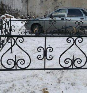 Изготовление оград,крестов