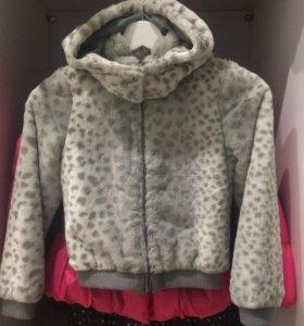 Куртки на девочку, 128